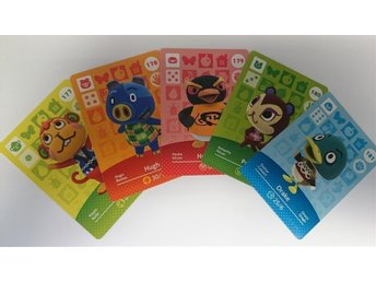 Animal Crossing Amiibo Cards series 2 Nr 177 - 181