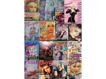 I buy Sweden-Norway magazines with MADONNA-on the cover