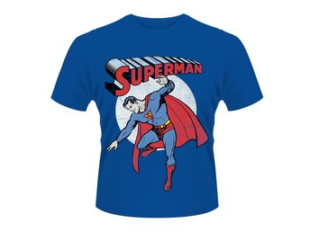 SUPERMAN VINTAGE IMAGE T-Shirt - X-Large