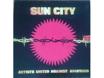 Artists United Against Apartheid titel*  Sun City* Hip Hop, Jazz, Blues, Rock