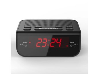LED Digital Klockradio CR-246 Med Alarm