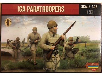 WWII IGA PARATROOPERS       Stretlets 1/72 Byggsats