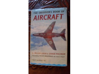 THE OBSERVER'S BOOK OF AIRCRAFT 1960 EDITION WILLIAM GREEN & GERALD POLLINGER