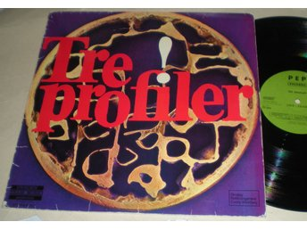 Tre Profiler LP Same 1972 VG++