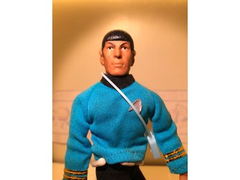 Mr Spock Star Trek Mego 1974 Fint skick