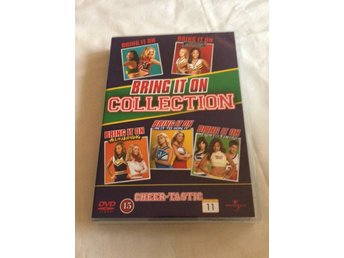 Bring it on collection - Alla 5 filmer - Svensk text - DVD