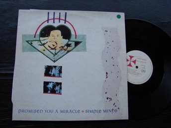 "SIMPLE MINDS - Promised you a miracle 12"" Virgin UK -82"