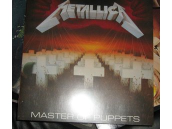 "metallica LP ""Master of puppets"