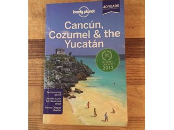 Lonely planet guidebok, Cancún, Cozumel och the Yucatán