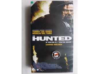 VHS film - The Hunted - Tommy Lee Jones / Benicio Del Toro