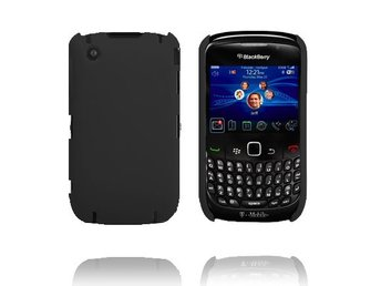 Beta Shield (Svart) BlackBerry Curve 8520/8530 Skal