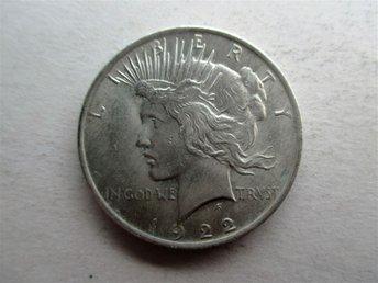 US 1 dollar, 1922 liberty Dollar - Geraardsbergen - US 1 dollar, 1922 liberty Dollar - Geraardsbergen