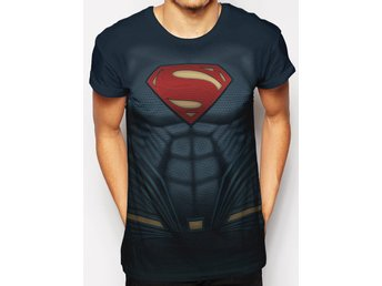 SUPERMAN COSTUME SUBLIMATED t-shirt - S