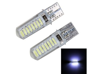 LED Diodlampa 3W 150LM 5500K 16 SMD-4014 Canbus - 2Pack