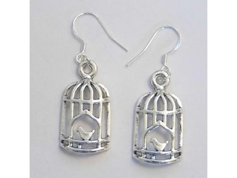 Fågelbur örhängen / Birdcage earrings