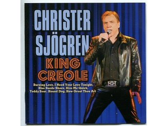 Christer Sjögren -King Creole cd Christer sjun Elvis Presley