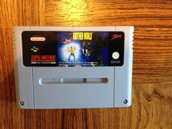 Another World - Super Nintendo SNES