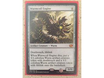 (Magic the gathering) Wurmcoil Engine NM
