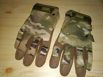 Nya Mechanix handskar, strl XL