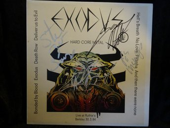 Exodus Live at Ruthie`s Berkley 1984