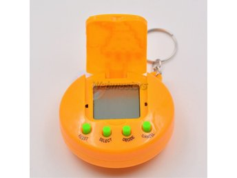 Tamagotchi Nya julklapp 2017 Version 90-tal 49 djur - Orange