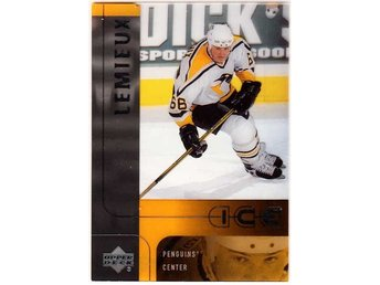 2001-02 Upper Deck Ice #36 Mario Lemieux