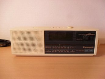 PANASONIC KLOCKRADIO Cool!