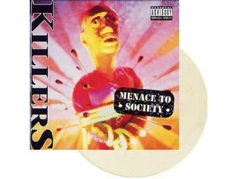 Paul Dianno's Killers -Menace to society LP ex- Iron Maiden