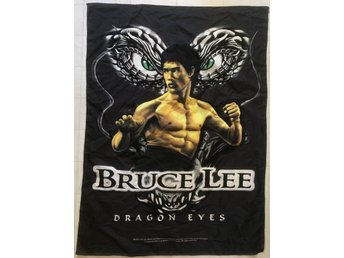 Bruce Lee - Dragon Eyes - Posterflag