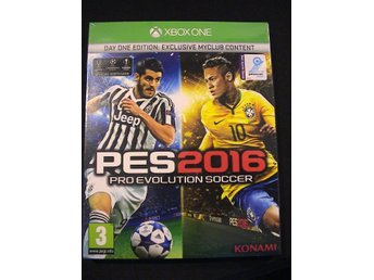 PES 2016 DAY ONE EDITION PRO EVOLUTION SOCCER / XBOX ONE / HELT NYTT & INPLASTAT