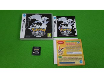 Pokemon Black Version ENGELSK Nintendo DS