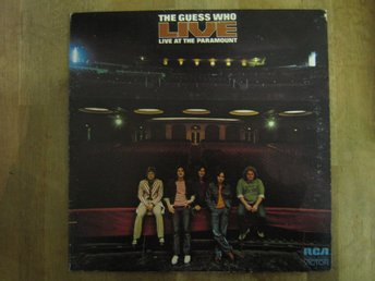 The Guess Who- Live At The Paramount (LP)