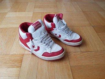 Converse Weapon, Sneakers / skor, stl 38, röda/vita, i bra skick. - Lund - Converse Weapon, Sneakers / skor, stl 38, röda/vita, i bra skick. - Lund