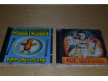 MILLENCOLIN  2 ST CD.  PENNYBRIDGE PIONEERS & LIFE ON A PLATE..