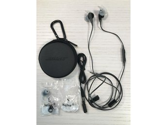 Bose SoundSport In-Ear Series II Apple - Svart
