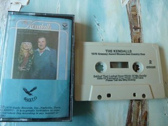 THE KENDALLS, 1978 GRAMMY AWARD, COUNTRY, KASSETTBAND, KASSETT