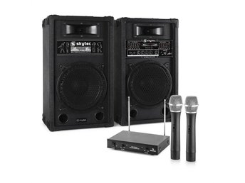 "Karaoke-Anlage ""STAR-10"" PA högtalare trådlöst mikrofon-set - Berlin - Karaoke-Anlage ""STAR-10"" PA högtalare trådlöst mikrofon-set - Berlin"