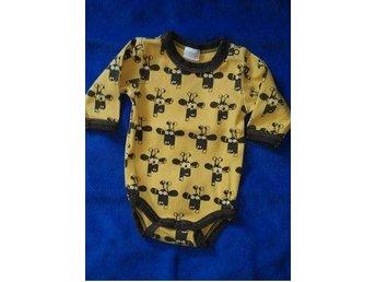 Baby body i retro stil i storlek 56 från baby by Lindex med giraffer - Vendelsö - Baby body i retro stil i storlek 56 från baby by Lindex med giraffer - Vendelsö