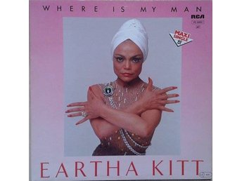 "Eartha Kitt title* Where Is My Man* Disco 12""-maxi Germany"