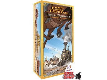 Colt Express Horses & Stagecoach Expansion (Engelsk Version)