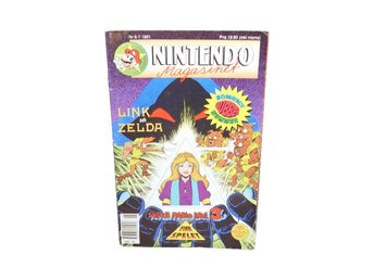 Nintendo Magasinet 6-7 1991 med Power Play bilaga