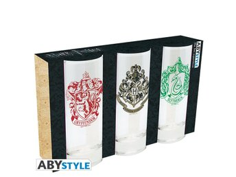 Glas (set med 3) - Harry Potter