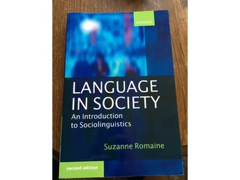 Language in society by Suzanne Romaine ISBN 978-0-19-873192-4