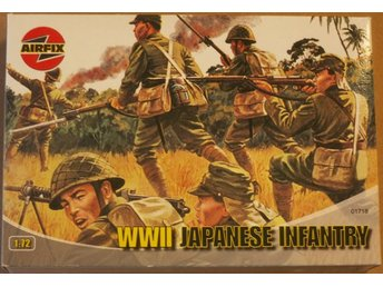 WWII JAPANESE INFANTRY      AIRFIX  1/72 Byggsats