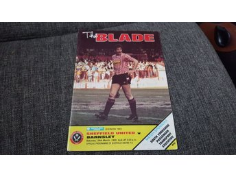 Program Sheffield United v Barnsley 89-90