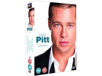 Brad Pitt - 5 Film Collection - Se Text - DVD Box