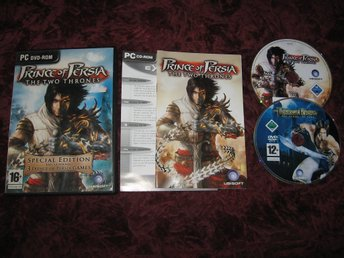 PRINCE OF PERSIA THE TWO THRONES + PRINCE OF PERSIA SANDS OF TIME PC DVD-ROM