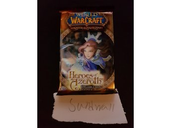 World of Warcraft TCG Kort - Heroes of Azeroth Booster Pack