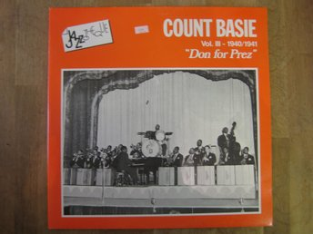 Count Basie-Vol 3  Don For Prez (2-LP) Toppskick!