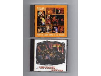 Nirvana  7CD Bleach x2, Nevermind, Incesticide, In Utero, Muddy Bank, Unplugged